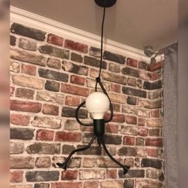 Hanglamp schommelend
