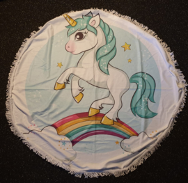 XXl handdoek/strandlaken unicorn