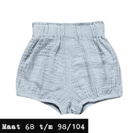 Blauw/grijs korte broek