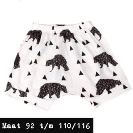 Witte korte broek - beren