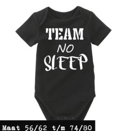 Romper zwart - team no sleep