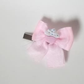 Haarclip - cupcake