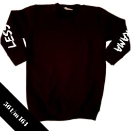 Sweaterjurk zwart Less Drama