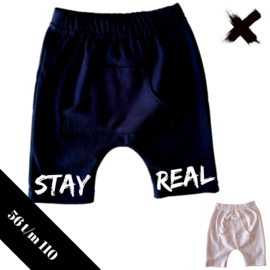Korte broek stay real