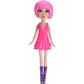 Free And Easy Pop Roze Haar Met Roze Jurk 26 Cm
