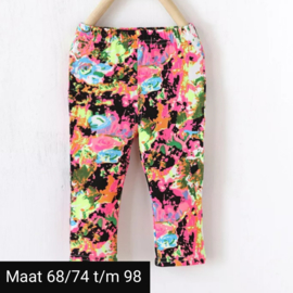 Legging graffiti
