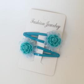 Haarspelden set - rozen