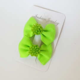 Haarspelden set - groen