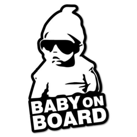 Strijkapplicatie baby on board