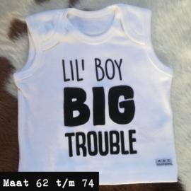 Wit singlet - lil boy big trouble