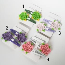 Haarspeldjes - rozen