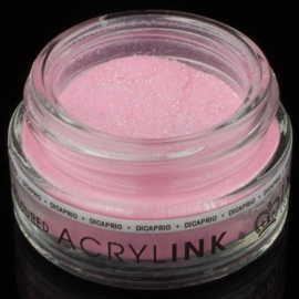 Coloured Powder - Dicaprio Neon Med Pink Glitter