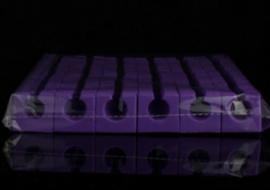 Toe Separators – Purple (144 Stuks)