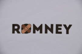T-shirt met Romney design