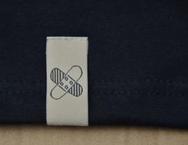 T-shirt met Pleister design