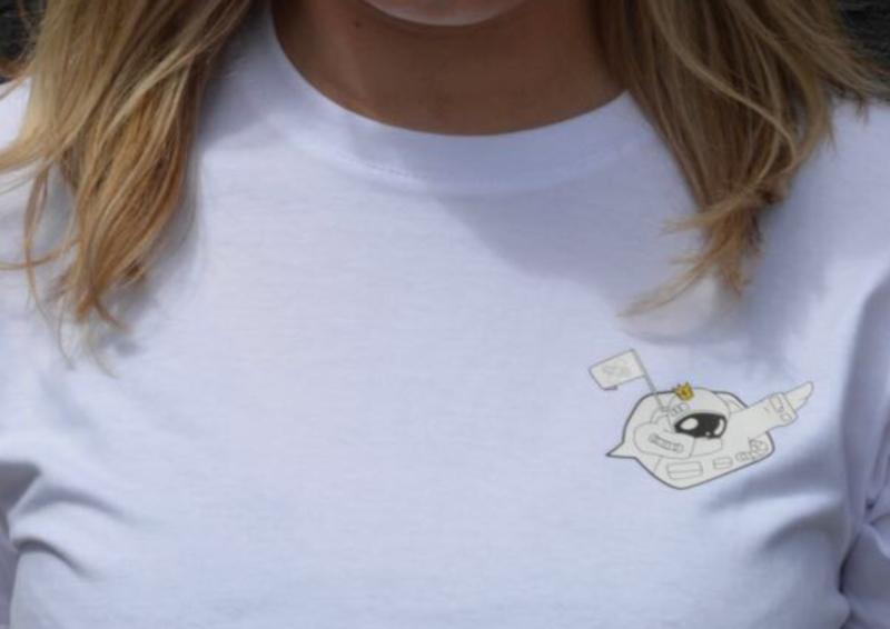 T-shirt met Astronaut design