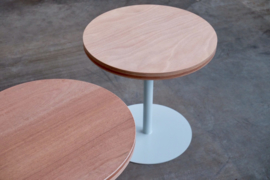 Series of restaurant tables
