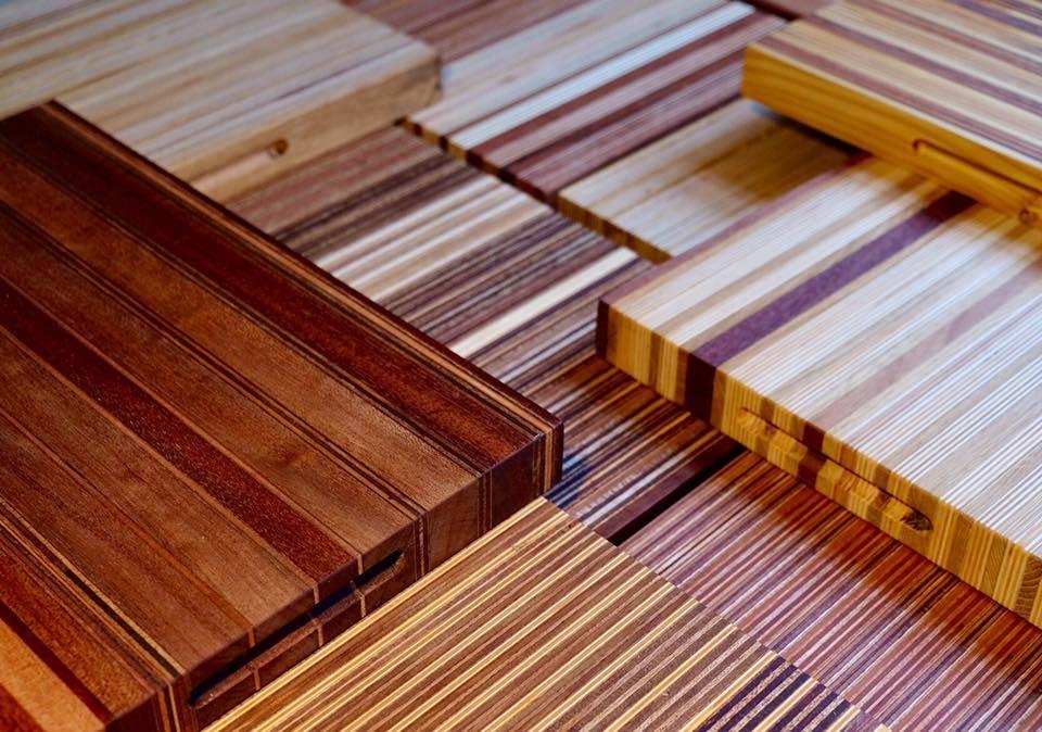 Upscalen van diverse gebruikte materialen en soorten  hout