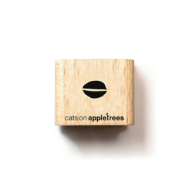 Cats on Appletrees - Mini Stempel Grafisch Blad