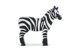 Tender Leaf Toys - Houten Zebra - 9 cm