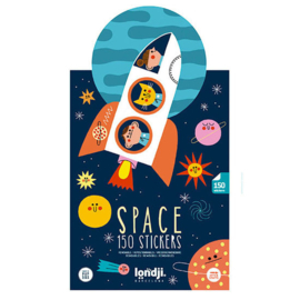 Londji - Space Stickers (150 st)