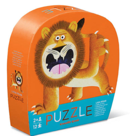 Crocodile Creek - Mini Puzzel Lion Roar (12st)