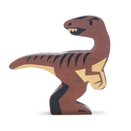 Tender Leaf Toys - Houten Velociraptor - 8 cm