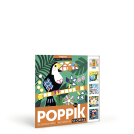 Poppik - Sticker kaarten - Tropical
