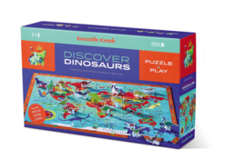 Crocodile Creek - Puzzel & Play Discover Dinosaurs (100 st)