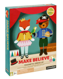 Petit Collage - Magnetic Dress Up: Make Believe