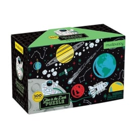 Mudpuppy - Glow in Dark Puzzel Outer Space (100 st)