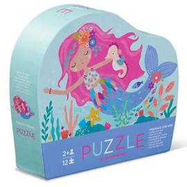 Crocodile Creek - Mini Puzzel Mermaid Dreams (12st)