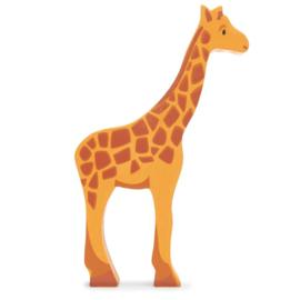 Tender Leaf Toys - Houten Giraffe - 14 cm