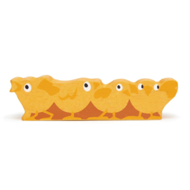 Tender Leaf Toys - Houten Kuikentjes - 10.2 cm