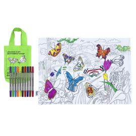 Eatsleepdoodle - Placemat Butterfly