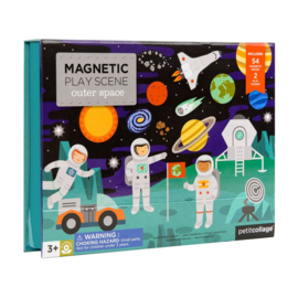 Petit Collage - Magnetic play scene: Ruimte