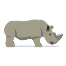 Tender Leaf Toys - Houten Neushoorn - 12 cm