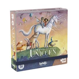 Londji - My Unicorn Pocket Puzzel (100 st)