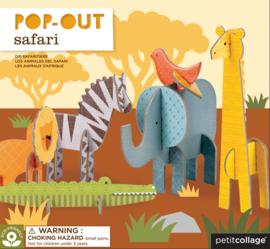 Petit Collage - Pop-out: 3D Safari