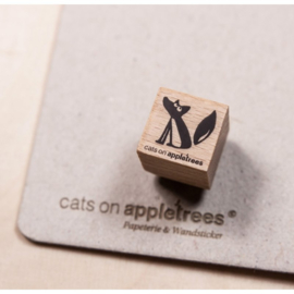 Cats on Appletrees - Mini Stempel Vos Ewald