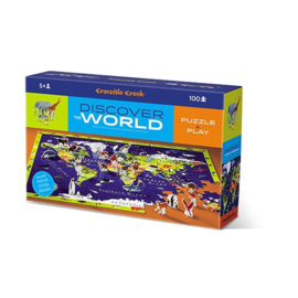 Crocodile Creek - Puzzel & Play Discover the World (100 st)