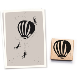Cats on Appletrees - Stempel Luchtballon