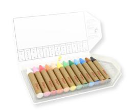 Kitpas - Art Crayons Large (12 stuks)