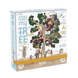 Londji - My Tree pocket Puzzel (100 st)