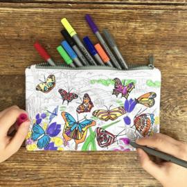 Eatsleepdoodle - Etui Butterfly