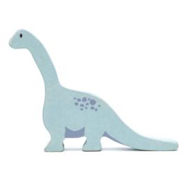 Tender Leaf Toys - Houten Brontosaurus - 15 cm
