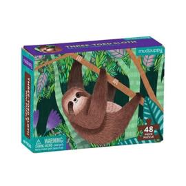Mudpuppy - Mini Puzzel Sloth (48 st)