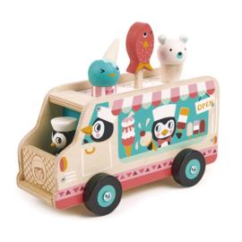 Tender Leaf Toys - Pinguin's IJskarretje