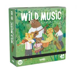 Londji - Omkeer Puzzel Wild Music (36 st)
