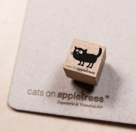 Cats on Appletrees - Mini Stempel Kat Frida